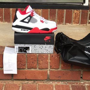 Air Jordan Retro 4 Fire Red 2020